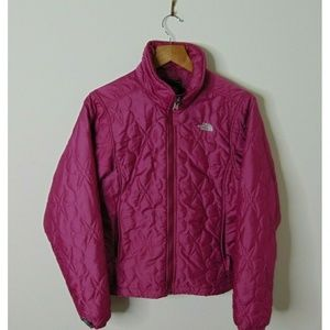 The North Face S Full Zip Pink Quilted Jacket